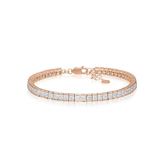 Trendschmuck von Juwelier Bosse, Armband goldfarbig