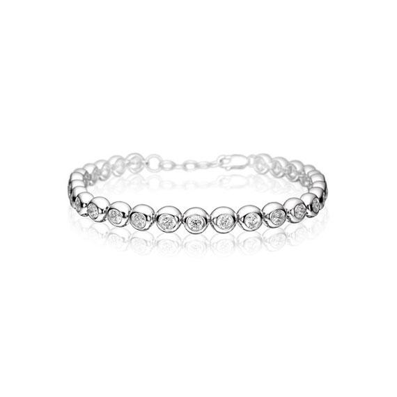 Trendschmuck von Juwelier Bosse, Armband silber