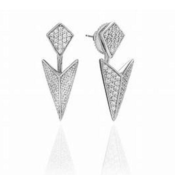 Schmuck von Juwelier Bosse, moderne Ohrringe