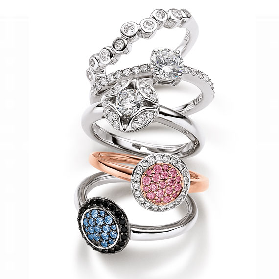 Schmuck von Juwelier Bosse, Ringe in großer Auswahl