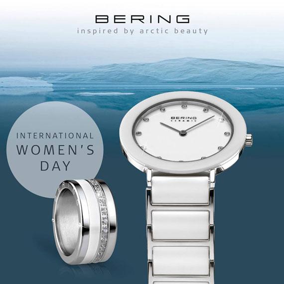 Damenuhr von Bering bei Juwelier Bosse